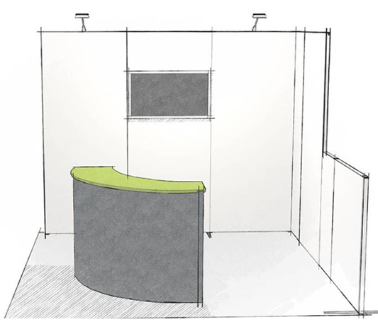 Exhibition Booth Flooring : Exhibit booth bar trade show display that