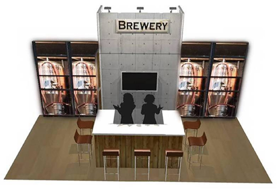 bar exhibit booth