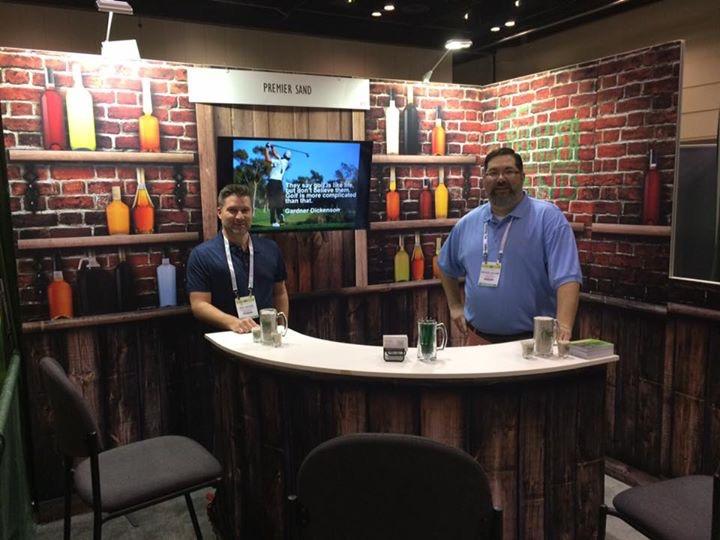 bar trade show display
